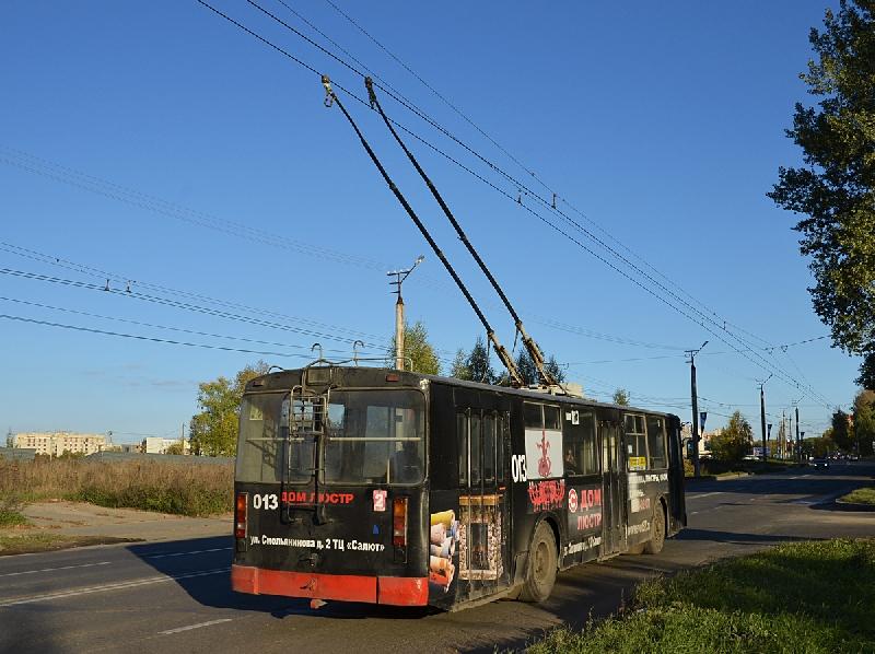 В Смоленске не будут ходить троллейбусы