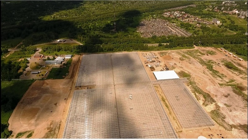 Осенью введут в строй первую очередь крупного тепличного комбината в Смоленской области