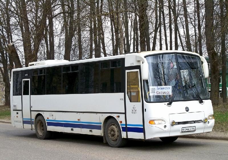 Из Смоленска будет ходить дополнительный автобус в Десногорск