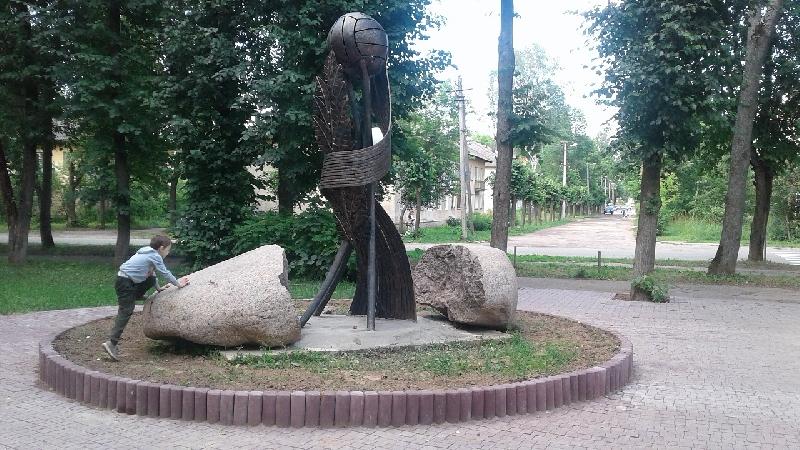 В райцентре Смоленской области появился новый памятник