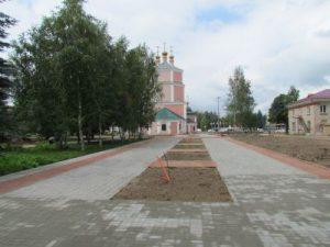 В райцентре Смоленской области порядка 11 млн рублей потратят на реконструкцию сквера