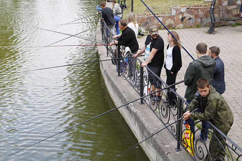 Стала известна программа Дня рыбака, который пройдет в Смоленске 5 августа