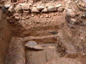 В Смоленске нашли фрагмент средневековой крепости