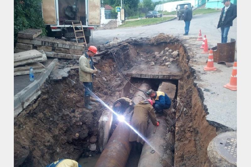 «Квадра» отчиталась о завершении работ на месте коммунальной аварии в Смоленске