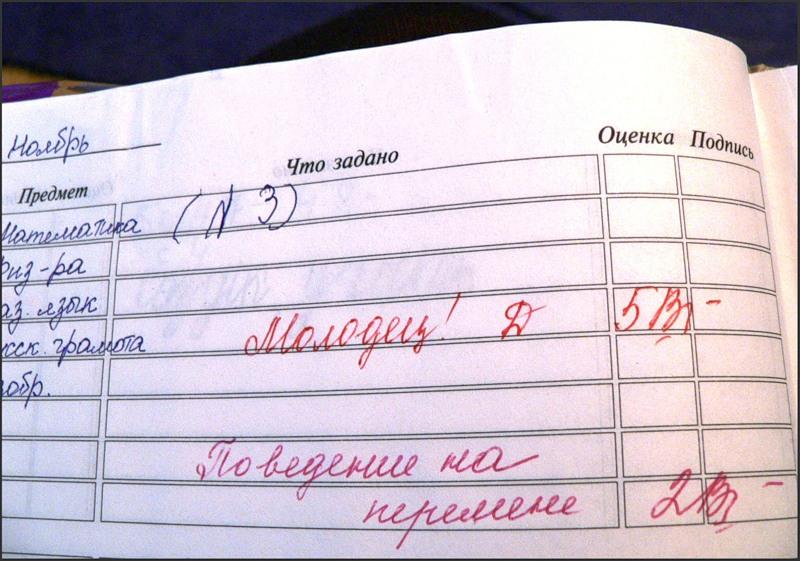 В российских школах могут пересмотреть пятибалльную систему оценок