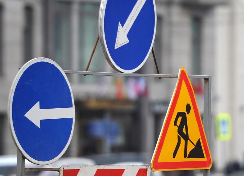 В Смоленске до конца августа ограничат движение по улице 12 лет Октября