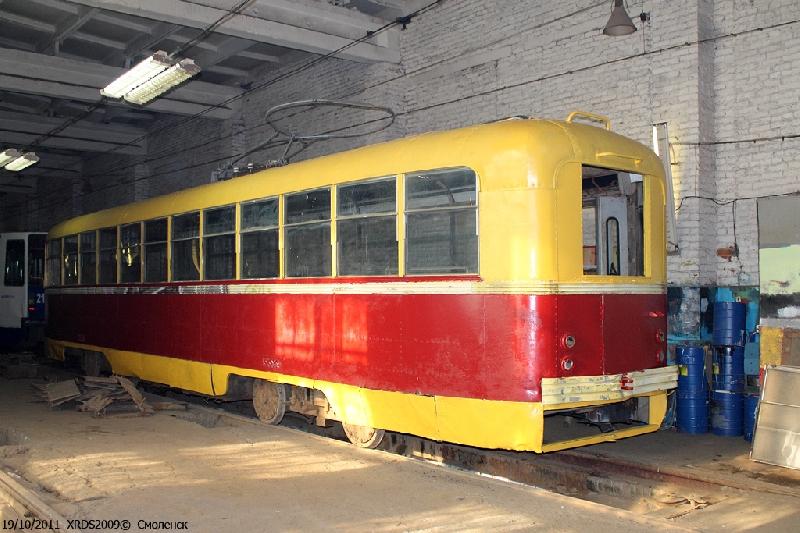 В Смоленске установят памятник трамваю