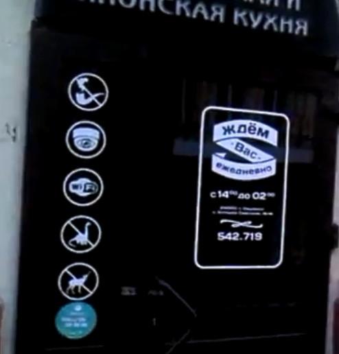 В кафе в Смоленске запретили входить с динозаврами