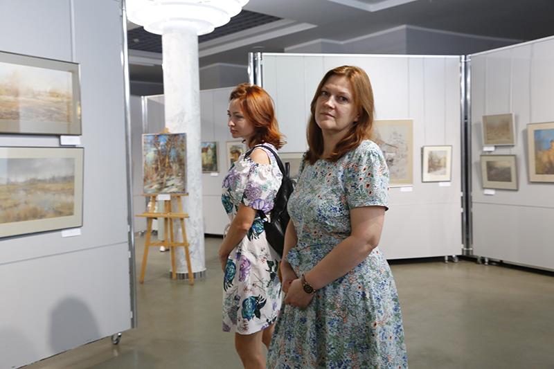 В Смоленске открылась персональная выставка Александра Зорина «Откровение»