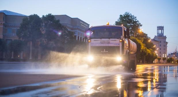 На каких улицах Смоленска будет проводиться уборка на этой неделе