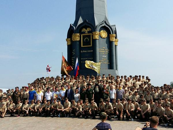 Юные патриоты и поисковики из Смоленской области прошли подготовку в профильной смене лагеря «БОРОДИНО»