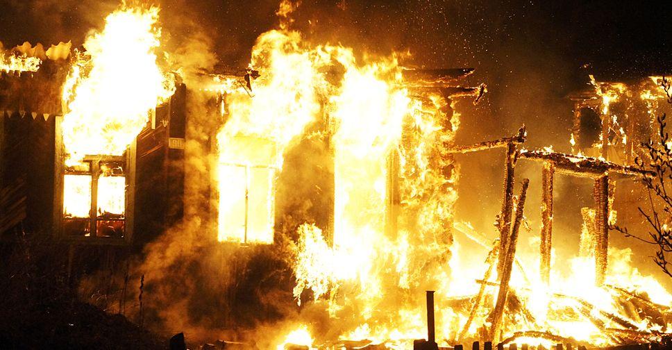 В пожаре под Смоленском погиб 95-летний мужчина