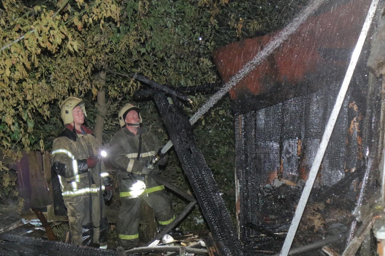 Ночной пожар в Смоленске. Есть жертвы