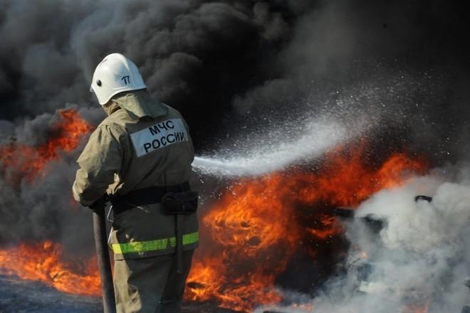 Ночной пожар в Монастырщине унёс жизни двух людей