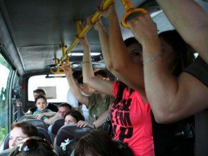 В Смоленске пенсионерка получила травмы в маршрутке