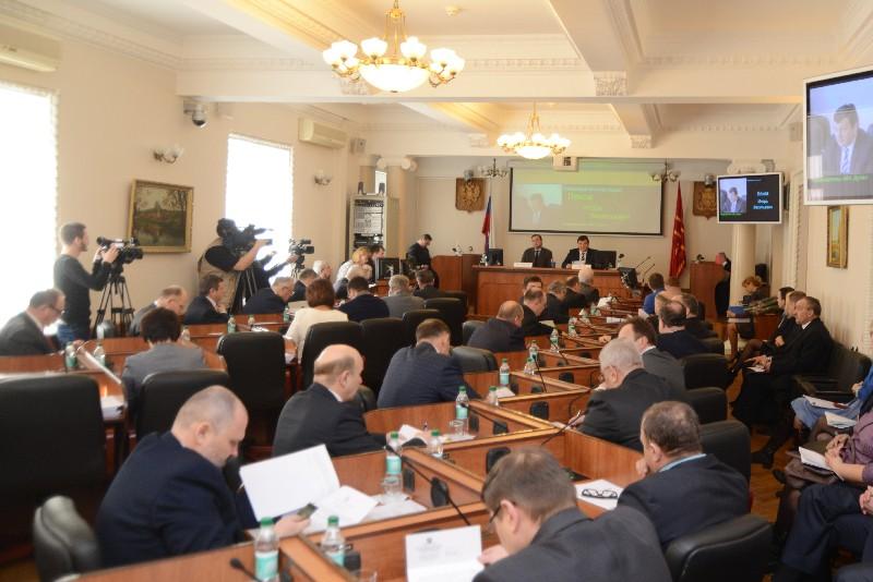В Смоленске проходит первое заседание Смоленской областной думы шестого созыва