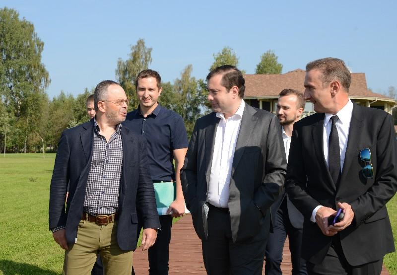Губернатор посетил Гагаринский район