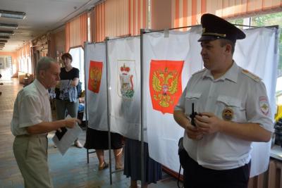 «Нарушений не допущено». В полиции подвели итоги работы в день выборов в Смоленскую облдуму