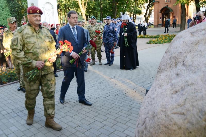 В Смоленске появится мемориал в память погибших сотрудников Росгвардии