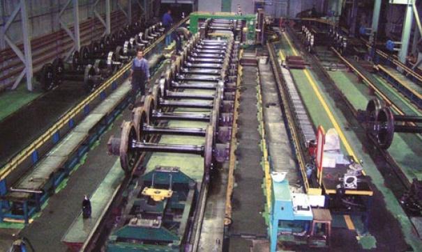 Рославльский вагоноремонтный завод выпустит вагоны общей стоимостью более миллиарда рублей