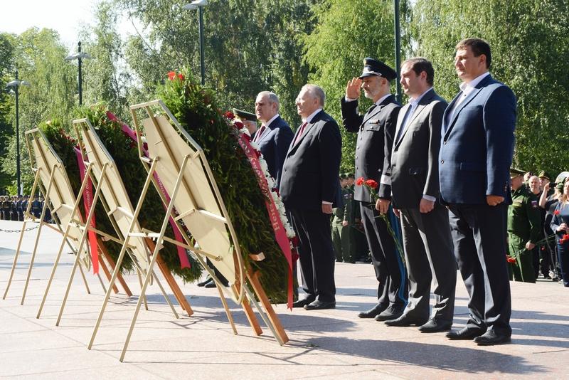 В Москве отметили 75-ую годовщину освобождения Смоленщины от немецко-фашистских захватчиков