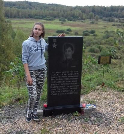 «Он повторил подвиг Александра Матросова». На месте гибели героя в Смоленской области высадили аллею