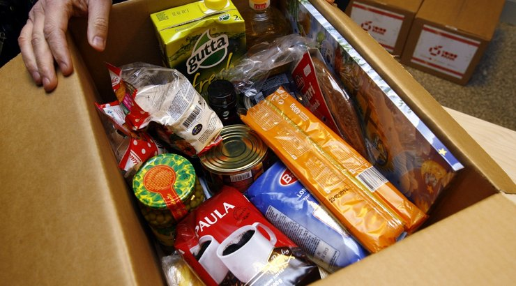 В Смоленске собирают продукты для нуждающихся