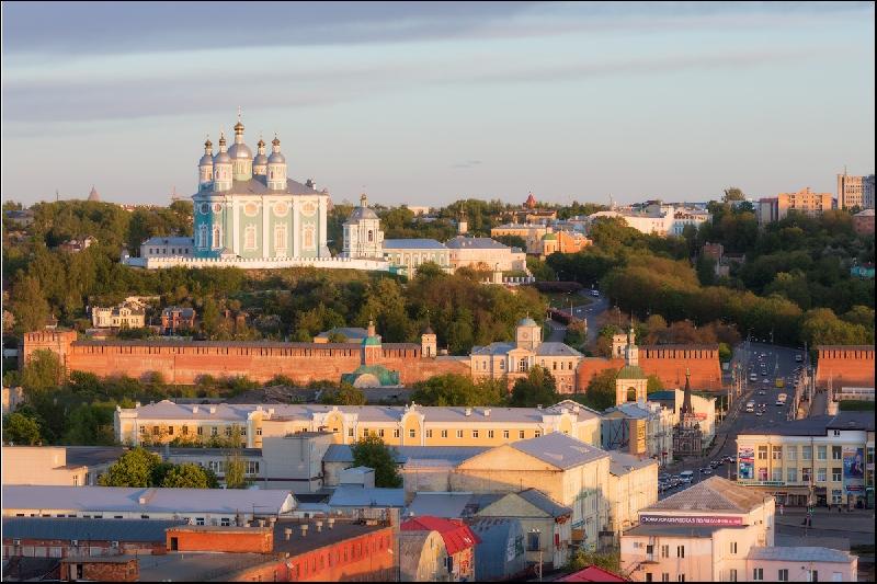 Смоленск участвует в конкурсе на самый узнаваемый и привлекательный город России