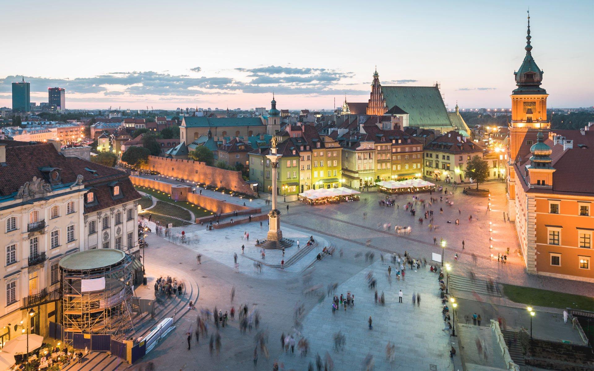 Туризм в Польше и достопримечательности Варшавы