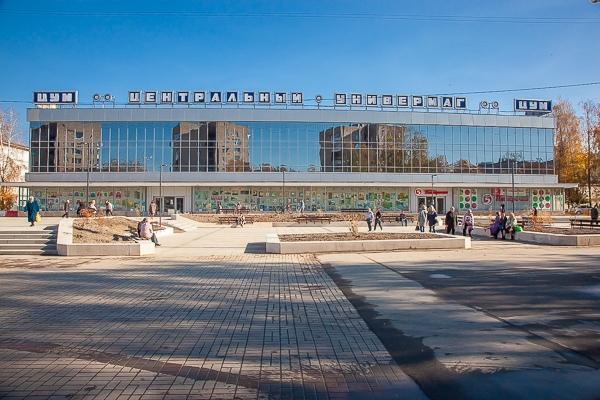 В центре Смоленска открыли благоустроенный сквер