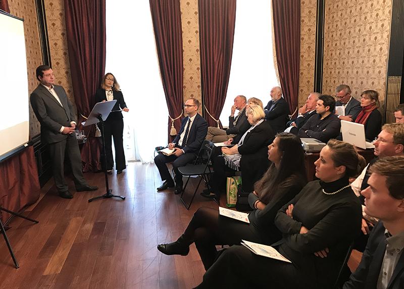 Губернатор Алексей Островский провел презентацию экономического и инвестиционного потенциала региона для голландского бизнеса