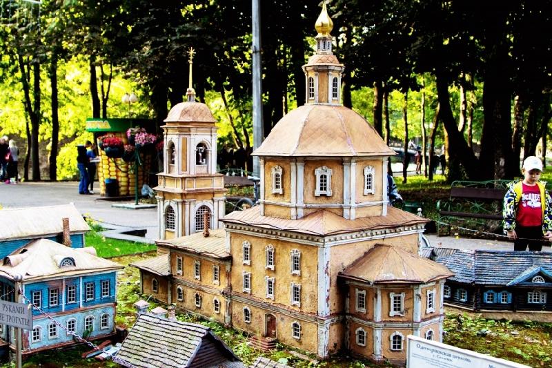 Макет Одигитриевской церкви в Смоленске будет отреставрирован