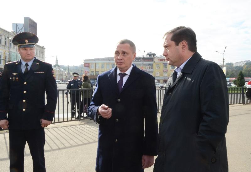 Глава Смоленской области проинспектировал отремонтированный путепровод