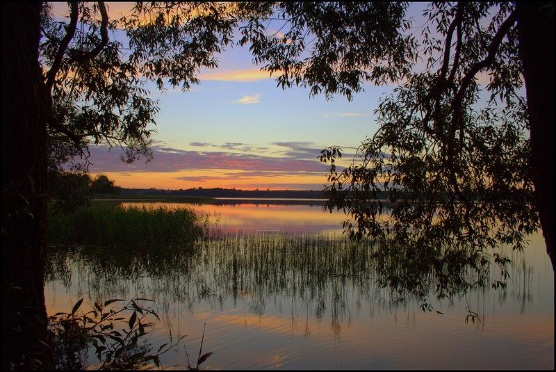 На берегу озера в Смоленской области снесли незаконно построенный дом
