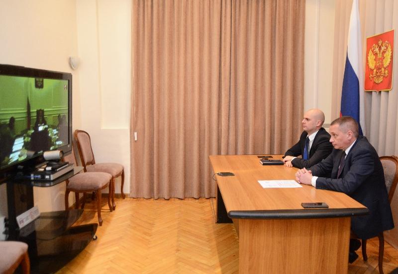 Смоленские чиновники приняли участие в видеоконференции о реализации проекта «Умный город»