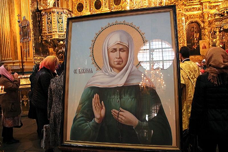 В Смоленск привезли ковчег с мощами блаженной Матроны Московской