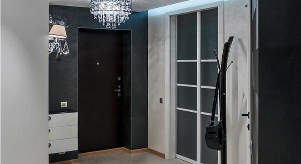 Дизайнерские решения для входных дверей