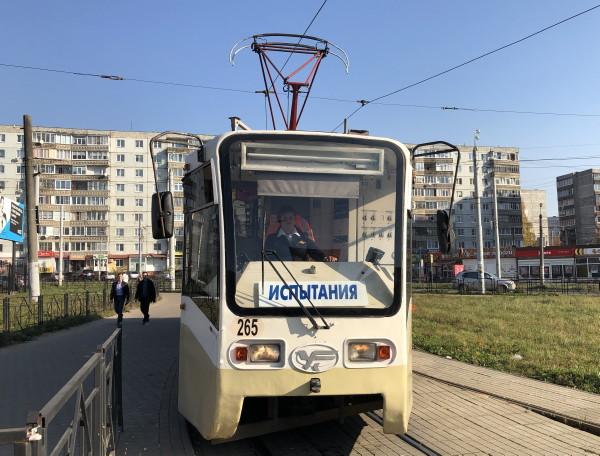 20 трамваев из Москвы привезли в Смоленск