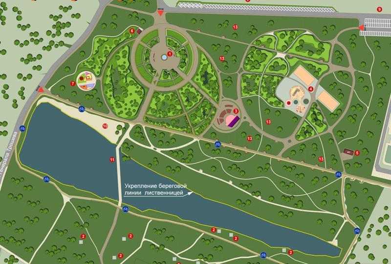 Что и сколько стоит в парке «Соловьиная роща» в Смоленске