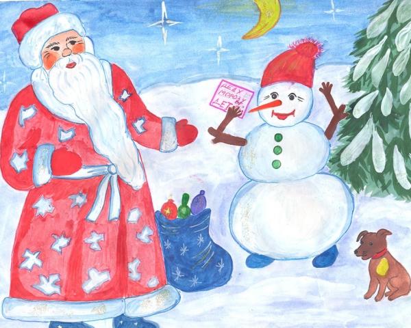 Смолян приглашают принять участие во Всероссийском конкурсе рисунков «Аромат Нового года и Рождества»