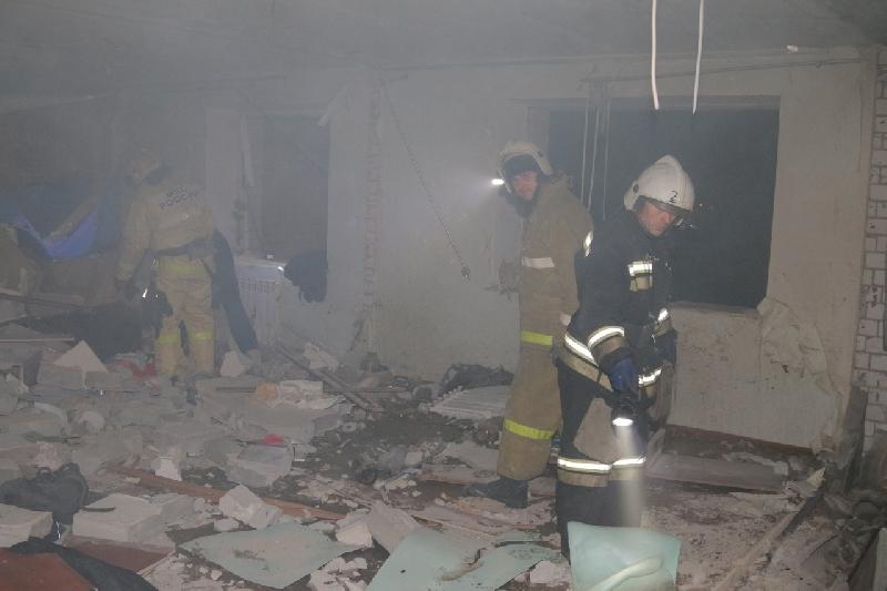 В жилом доме под Смоленском, в котором произошел взрыв газа, повреждены 16 квартир
