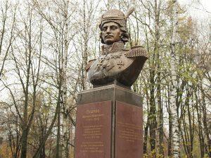 В райцентре Смоленской области установили бюст атамана Платова