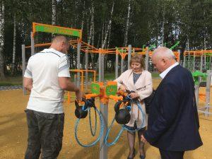 В Смоленске открыли парк «Соловьиная роща»
