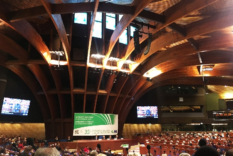 Губернатор Алексей Островский выступил на заседании Конгресса местных и региональных властей Совета Европы