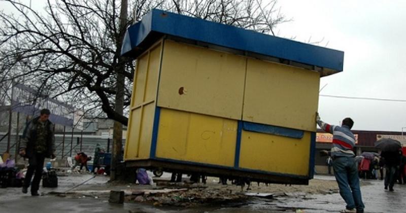 В Смоленске снесут ларьки на проспекте Гагарина