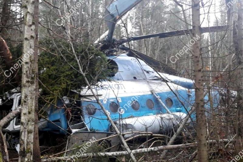 СМИ назвали причину жесткой посадки вертолета, летевшего из Смоленской области