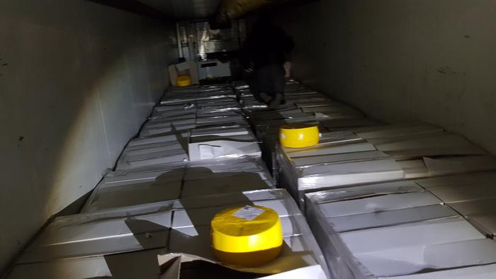 Смоленские таможенники задержали санкционные шпик и рыбу