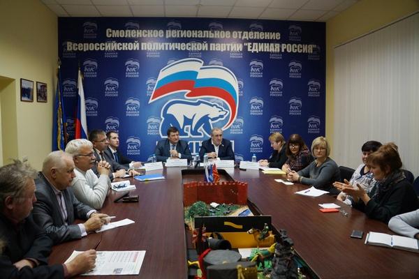 «Свобода на патент». В Смоленске Сергей Неверов встретился с владельцами личных подсобных хозяйств