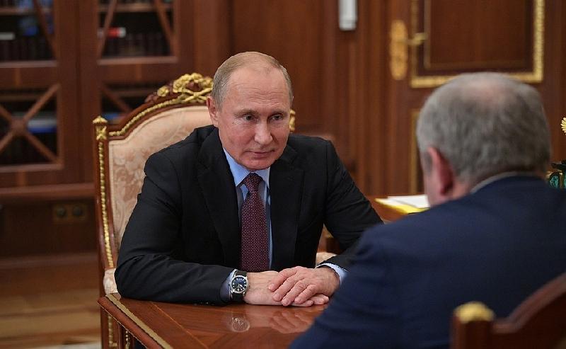 Владимир Путин встретился с заместителем председателя Государственной Думы Сергеем Неверовым