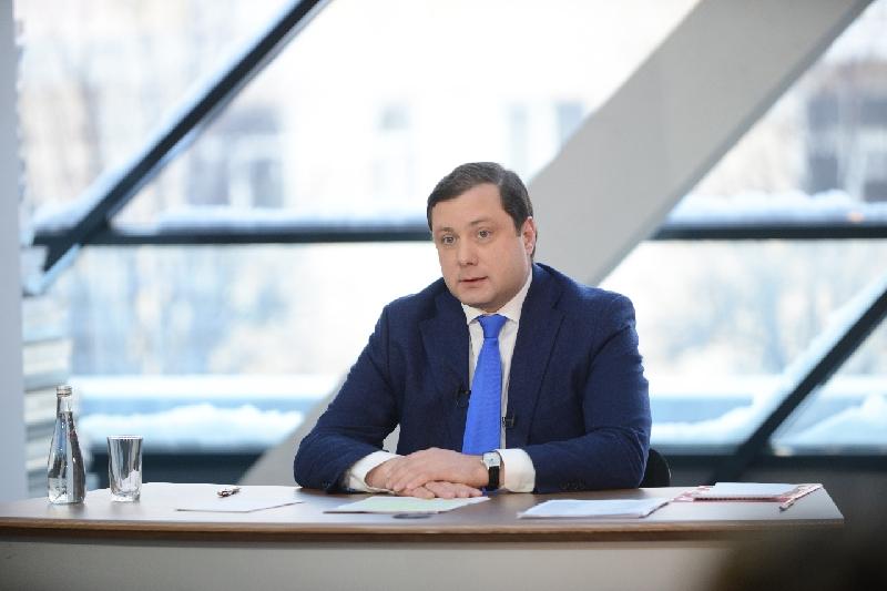 Губернатор Алексей Островский проведет ежегодную итоговую пресс-конференцию